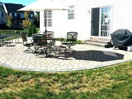 diy stone patio ideas easy backyard quick budget photo of on a outdoor diy stone patio