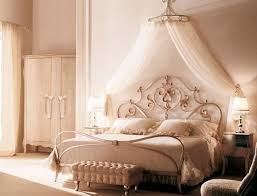 White Gold Canopy Bed