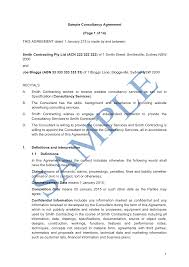 This consultancy agreement template is designed to be used in general situations by any organization since it is in an. Consultancy Agreement Free Template Sample Lawpath