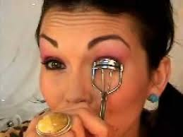 pink eyeshadow 80 s glam look by kandee johnson kandee johnson you