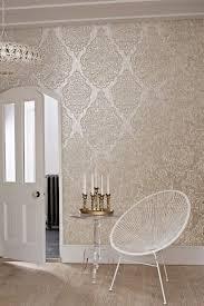rose gold wallpaper living room ideas