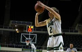 """Women's Basketball: Katie Barker shines in a second-chance attempt of the  """"Battle of the Bricks"""" - The Post"""