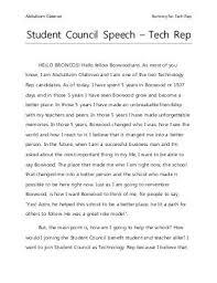 best student council speech ideas funny student student council speech