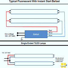 typical wiring diagram 4 lamp ballast wiring diagram fluorescent ballast wiring diagram at T8 Ballast Wiring Diagram 277 Volt