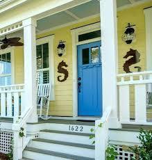 beach house entrance doors coastal nautical front door ideas the look and