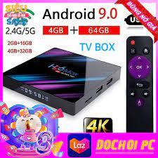Hộp tv thông minh h96max - rk3318 tivi box android 9.0 4gb ram 32gb rom hỗ  trợ bluetooth 4k smart tv box - Sắp xếp theo liên quan sản phẩm