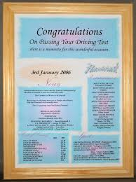 Flashback - Congratulations Certificate