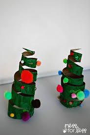 Christmas Crafts For Kids To Make Christmas Crafts For Kids Cardboard Tube Christmas Tree Mess