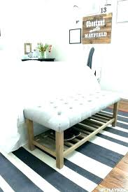storage bench at foot of bed foot of bed storage storage bed benches modern bed foot