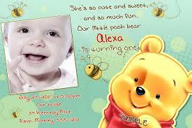 winnie the pooh 1st birthday invitation wording winnie2