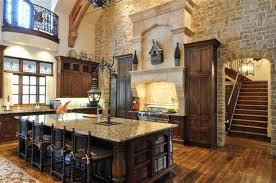 kitchen tuscan kitchen style stones tuscan kitchen with large island and chairs and ructic