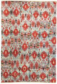elegant ikat rug for your interior design frost and red ikat rug for transitional living