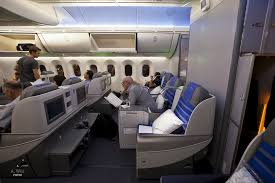 business cl cabin