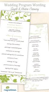 sample wedding program wording 28 images of simple wedding programs two fish template netpei com