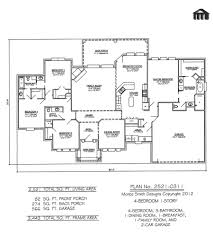 floor plans family single bedroom story room house