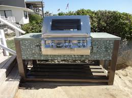 Steel Frame Outdoor Kitchen Contemorary Outdoor Kitchen With Gloster Fire Pit Furniture