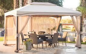 a gazebo canopy in your backyard