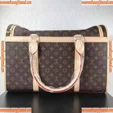 Replica Designer Pet Carrier Replica Womens Handbags Louis Vuitton Dog Carrier 40
