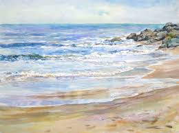 nancy wernersbach 2016 oil waves are majestic fleeting i love to capture one like this original available contemporary painting