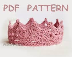 Crochet Baby Crown Pattern