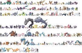 Pokemon Evolve Chart 76 Meticulous Pokemon Evoltion Chart