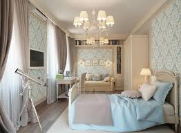 traditional modern bedroom ideas. Blue Cream Traditional Bedroom With Wallpaper Modern Interior Master Home Decorating Ideas Right Paint D