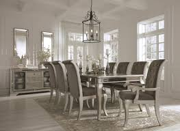 white and black dining room sets. Birlanny Silver Rectangular Extendable Dining Room Set White And Black Sets