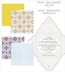 little envelope template free printable mini wallpaper notes envelope template home