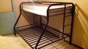 letgo black metal bunk bed in Chicago, IL, chicago metal bunk beds ...