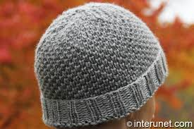Mens Beanie Knitting Pattern Stunning How To Knit A Hat For A Man Interunet
