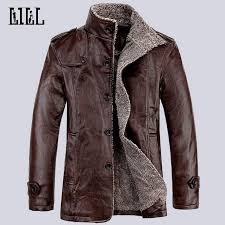 hi q 2017 spring fashion men s motorcycle leather jackets men winter casual warm coats thick wool male er jacket 4xl uma335 mens jacket with hood nice