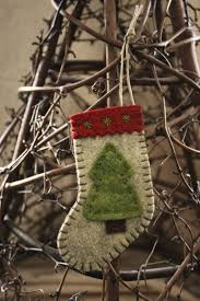 Rustic Christmas Ornaments Best 10 Stocking Ornaments Ideas On Pinterest Fabric Ornaments