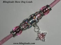 Custom Made Bling Show Dog Leads ...