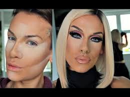 drag makeup tutorial w highlight contour techniques