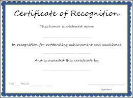 Sample Citation For Certificate Of Recognition Appreciation