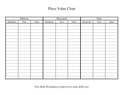 Large Place Value Chart Printable Www Bedowntowndaytona Com