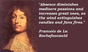 Francois de La Rochefoucauld's quotes, famous and not much ... via Relatably.com