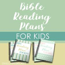 Free Bible Reading Chart Printable Bible Reading Plans For Kids In All You Do