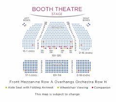 Stephen Foster Story Seating Chart Booth Theatre Shubert Organization