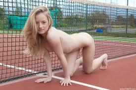 Gabi Nude in Matchball at Femjoy Hunter