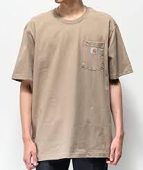 Carhartt Workwear Brown Pocket T Shirt
