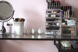 makeup table with storage this vanity mirror provides