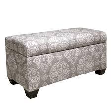 Skyline Bedroom Furniture Skyline Furniture Upholstered Jakarta Storage Bedroom Bench