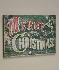 Pallet <b>Sign Merry Christmas</b> Pine Vintage Rustic Wall Art Holiday ...