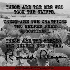 D Day Quotes Beauteous Ronald Reagan D Day Quotes
