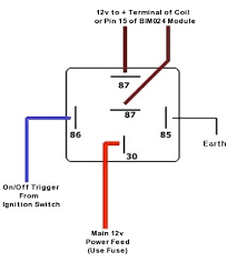 bosch type relay wiring diagrams 4 pole relay wiring diagram peugeot 406 radio fuse at Peugeot 406 Wiper Wiring Diagram
