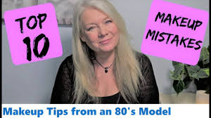 top 10 makeup beauty mistakes tips over 50s women makeup beauty videos lifestyle beauty