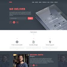 Resume Website Template Best Of Free Psd Portfolio And Resume Website Templates In 100 54