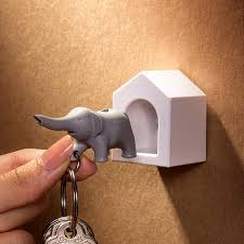 elephant wall key holder