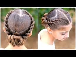 Pretty Girls Hairstyle rope twisted heart cute girls hairstyles youtube 7157 by stevesalt.us